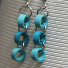 Earrings. I have some exactly like this in yellow.