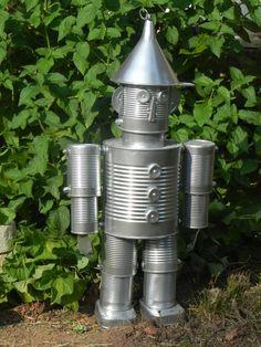 TIN MAN - he'd be cute in the garden