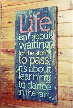 As a child I used to dance in the rain, thinking about it now, its seems like another life. I need to recapture that joy