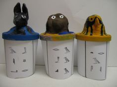 After learning about canopic jars in Geronimo Stilton's 2nd challenge, create your own!