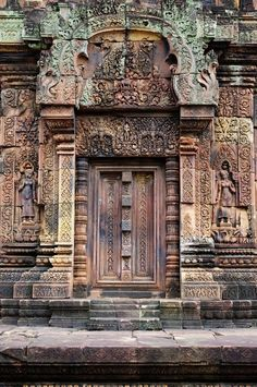An Ancient doors of