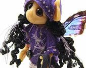 """OOAK Handmade Polymer Clay Fairie Fairy """"Twinkle"""" Fantasy Art Doll"""
