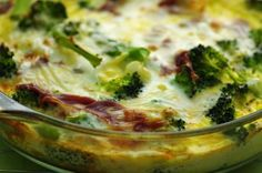 Ww 3 Pt. (Weight Watchers) Broccoli Quiche from Food.com: This is a recipe I came up with because I love broccoli and I like to stick to 3-4 pts for breakfast when I am on Weight Watchers. This quiche and 1 low fat english muffin keep me full until lunch.