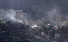 Smoke from the Waldo Canyon Fire.