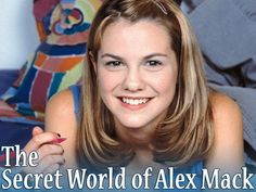 Larisa Oleynik as Alex from the Secret World of Alex Mack, old 90's TV show that used to be on Nickelodeon..