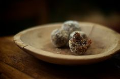 Ever wondered what a sugarplum is?  It's a traditional sweet made of dried fruit and spice.