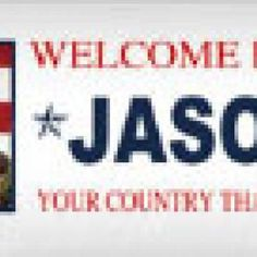 Customized Military Welcome Home Banner {free}  Just pay shipping