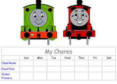 Thomas the Tank Engine Activities from DLTK's Crafts for Kids