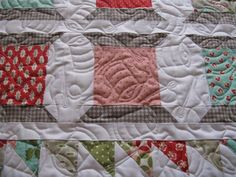 The spool quilting is incredible!!! by Quilt Hollow