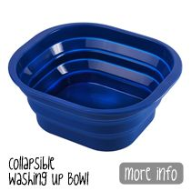 Collapsible washing up Bowls