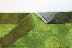 easiest quilt, quilt binding, quilt finish, join quilt