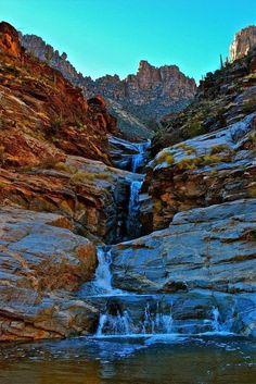 Seven Falls, Bear Canyon AZ