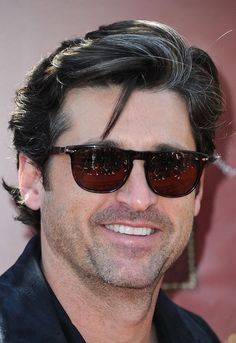 Patrick Dempsey - Sunglasses By Persol  Source http://eproduct-lookup.com