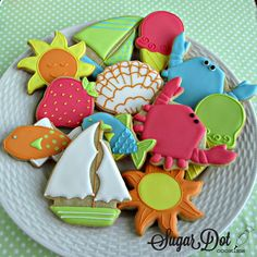 Sugar Dot Cookies: M