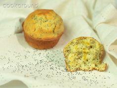Muffins al limone con semi di papavero: Ricette Dolci | Cookaround