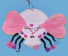 "Creating Valentine's Day love bugs is a cute craft project.  I would create a bulletin board display with a title such as ""We Love Reading!  Don't Bug Us When We Are Reading Books!""  Somewhere on the love bug, students could write about a book they love."