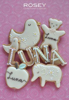 cute iced sugar cookies !