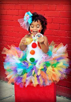 cute clown costume for halloween!