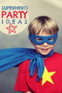 Superhero Party Ideas for the next kids' birthday party!