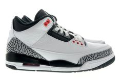 http://www.newjordanstores.com/ 136064-123 Air Jordan 3 Infrared 23 White/Cement Grey-Infrared 23-Black $119.99