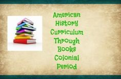 american history through books colonial period