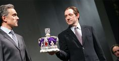 Kevin Spacey as Richard II with Ben Miles as Bolingbroke