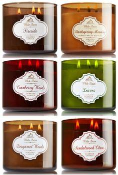 bath body works winter 2014 candles