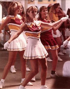 cheerlead 1960s, vintag cheerlead