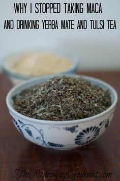 An interesting experience with three different herbs/tea that all caused the same negative side effect.