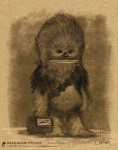 Chewbacca's First Day of School