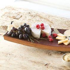 Terrain Wine Barrel Cheese Tray