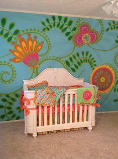 Bold and beautiful! #nursery