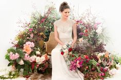 "Gwendolynne ""Modern Muse"" Wedding Gown Collection"