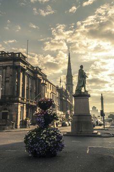 Epic sunrise, Edinburgh, Scotland
