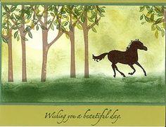 Springtime Horse