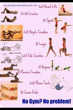 No Gym? No problem.