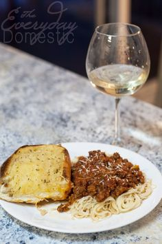 World's best Spaghetti Sauce. I made this again tonight and it's my favorite recipe!