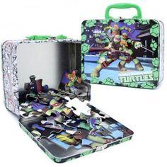 Teenage Mutant Ninja Turtles 48-Piece Puzzle in Tin from Cardinal Games