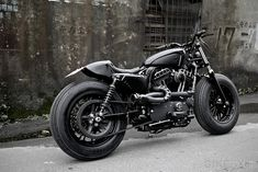 Harley Sportster Forty-Eight custom: The Bomb Runner from Rough Crafts, Taiwan.