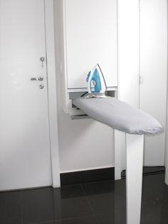 Especial para áreas de serviço: uma tábua de passar roupa super prática