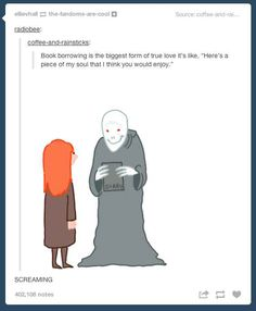 And commiserate about the anguish of book borrowing. | 27 Reasons Literary Nerds Will Love Tumblr