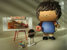 Ren and his Mini Donut Shop