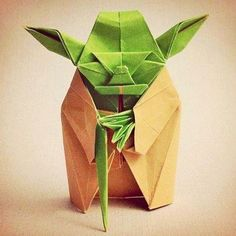 Origami Yoda! Still just as wise :)
