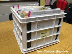 Good ideas for organizing materials
