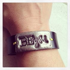 BE YOU Leather Cuff