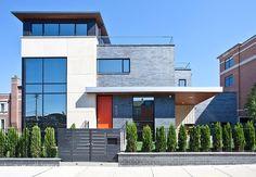 Lincoln Residence Modern House Nearby Lake Michigan With a Sense of Verticality by Joseph Trojanowski
