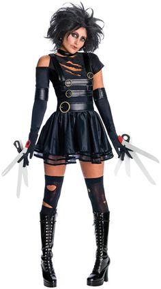 scissorhand costum, adult costumes, costume ideas, edward scissorhands, couple costumes, fun, costum idea, halloween costum, costume halloween