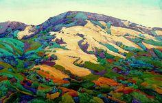 iiiinspired: no valley too deep robin purcell , watercolors