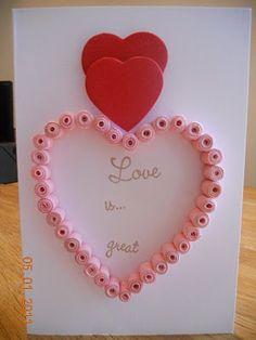 lovely valentine's day card