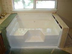 Garden Soaking Tub | Tubs and More - Fiberglass Tubs and Showers